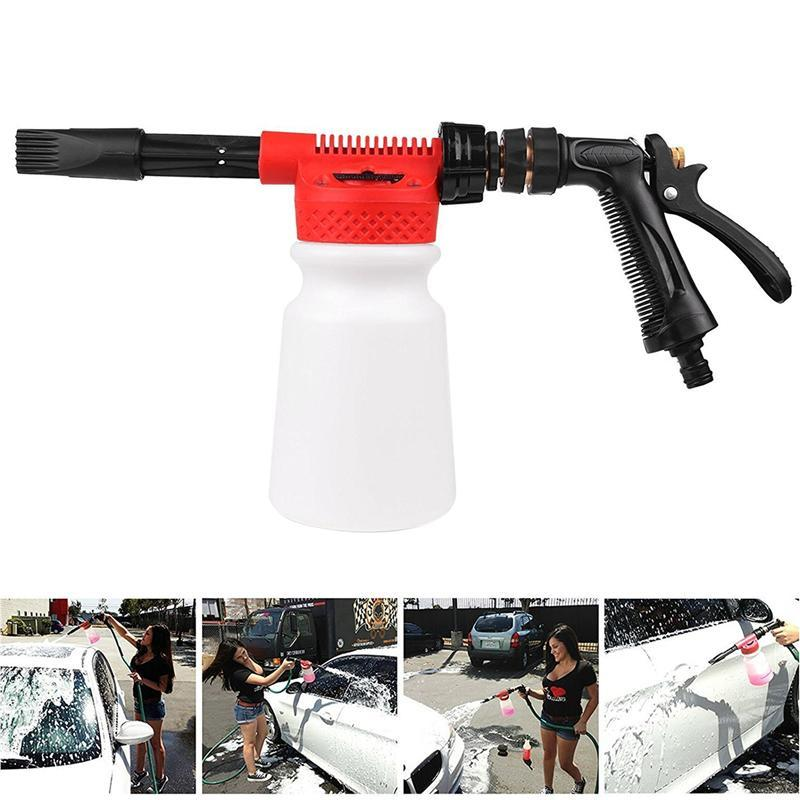 Systematic Winomo Car Cleaning Foam Gun Multifunctional Washing Gun Water Soap Shampoo Sprayer 900ml For Van Motorcycle Vehicle Neither Too Hard Nor Too Soft Home & Garden