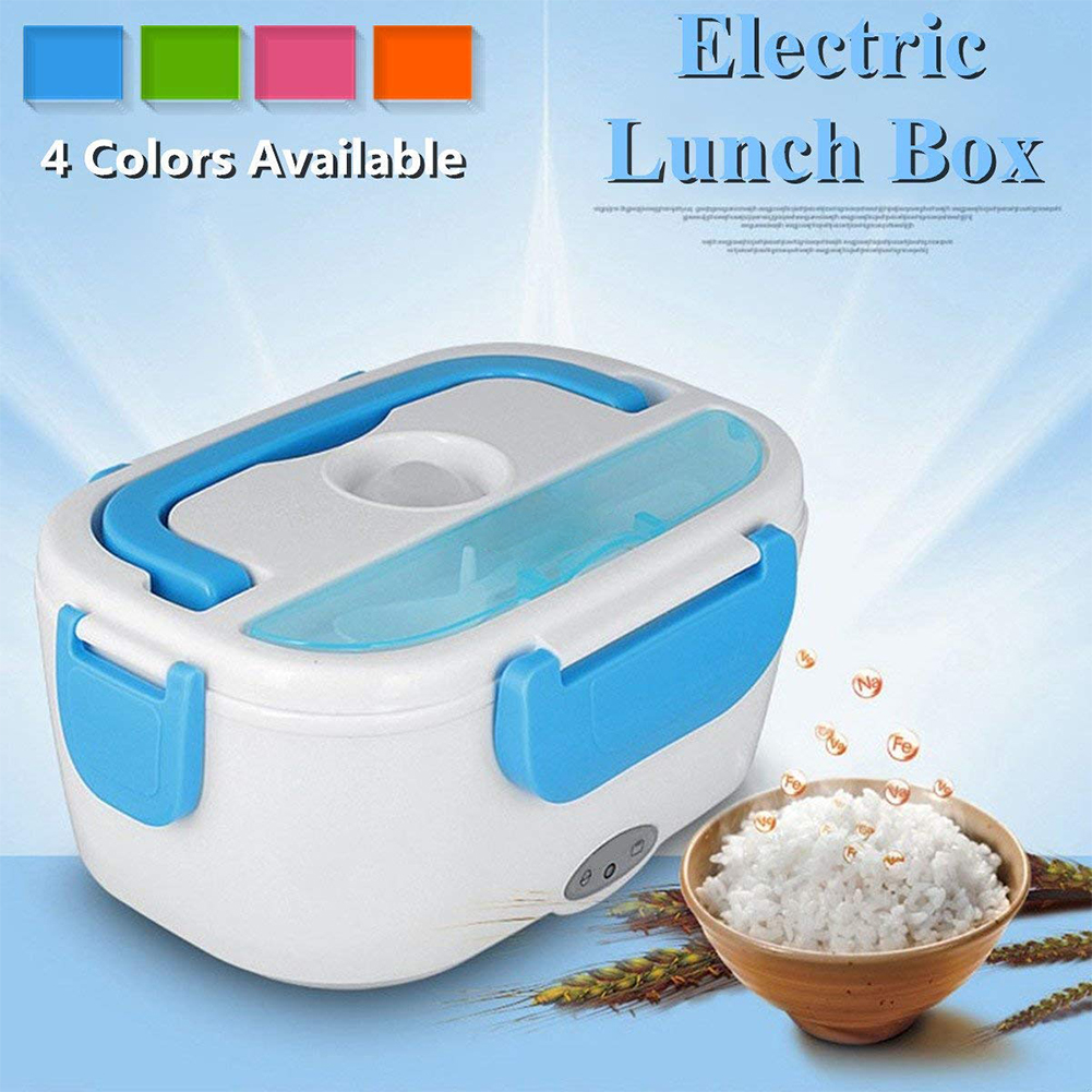 Portable Heated Lunch Box Electric Heating 40W Oven Cooker Food Warmer US STOCK