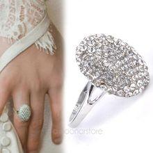 Стильное женское кольцо, Дамское ювелирное изделие, вампир, Сумеречная Белла, Кристальное кольцо, Реплика, обручальное, свадебное, праздничное, косплей кольцо