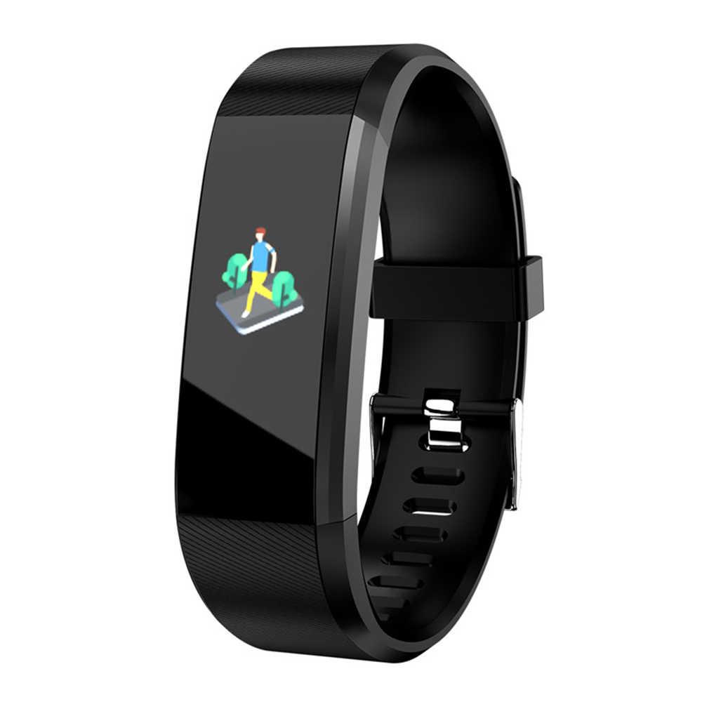 F23 Smart браслет Watc 0 96 Inch Спорт шаг подсчета мониторинга сердечного ритма Смарт часы