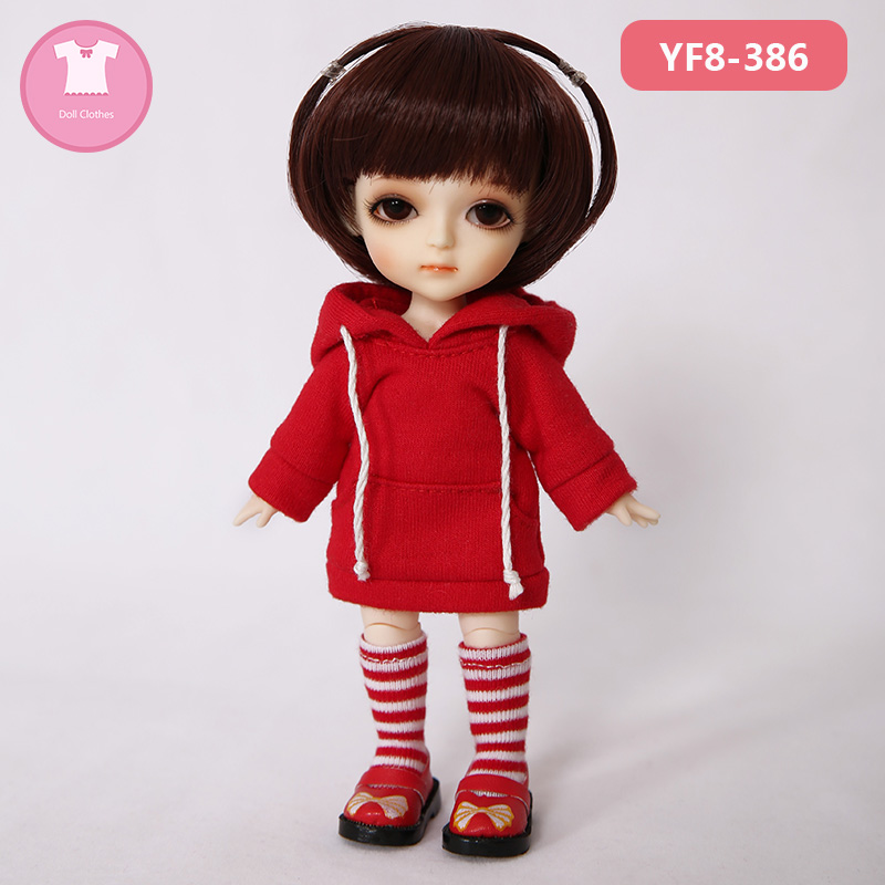 BJD Clothes 1/8 Doll Body Cute Mini Dress Or Suit Beautiful Girl For Lati Yellow Choo Chika Body OUENEIFS Doll Accessories  Luod