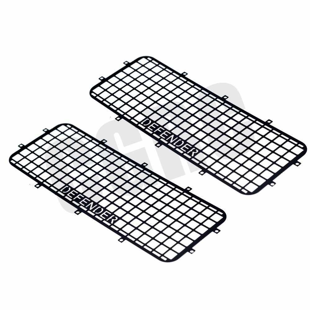 TRX4 T4 Metal Window Mesh Protective Net for 1//10 RC Crawler Car Traxxas TRKCA