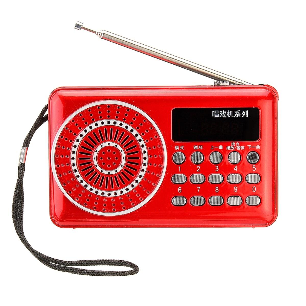 Tragbare Radio Handheld Digital Mini Radio Fm Usb Tf Mp3 Headset Musik Player Lautsprecher Fm Antenne Wiederaufladbare 100 Hz-20 Khz Delikatessen Von Allen Geliebt Unterhaltungselektronik