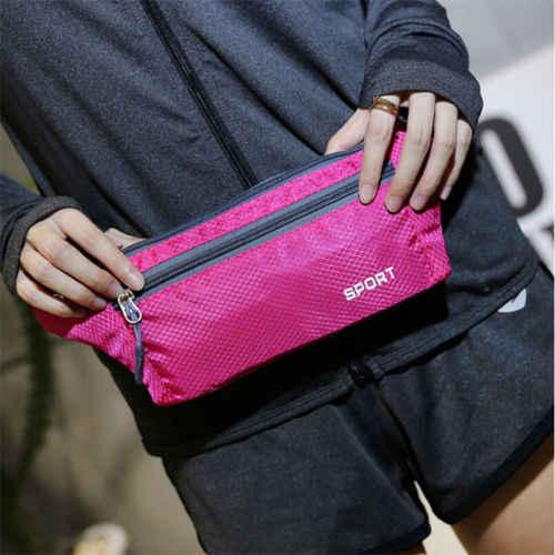 女性男性火傷バッグファニーバッグパック実行している旅行バッグマネージップベルトポーチスポーツ財布ソリッドカジュアルファッション新発売
