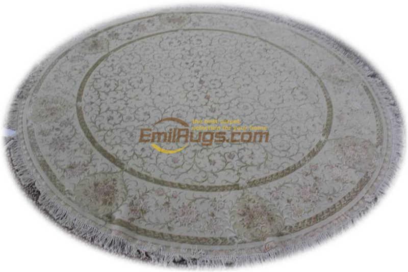 Conciso Moderno Sistema Contínuo de Campo Tapete de Lã Vento Tribunal Tapete de Lã Pura Tapete Bege Rodada Longo Squaregc117savyg28