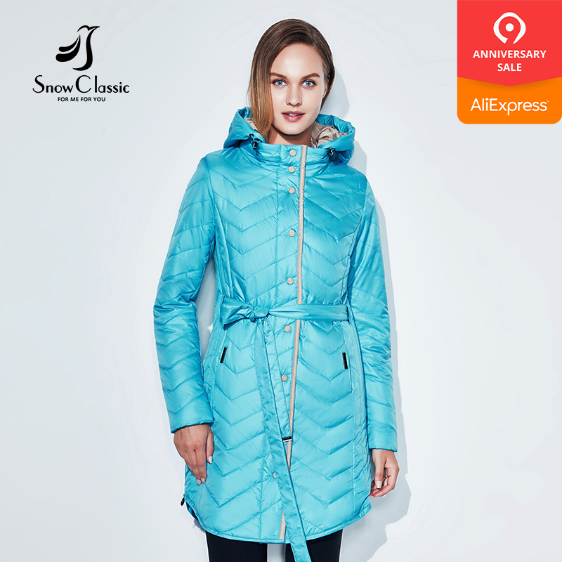 2018 SnowClassic Spring Summer Coat Windbreaker Breathable Thin - Women's Clothing