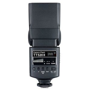 Image 3 - Godox TT520 II フラッシュ TT520II 内蔵ワイヤレス受信、標準 RT 用ニコンペンタックスオリンパスデジタル一眼レフカメラ