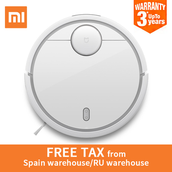2018 Original XIAOMI MI Robot Vacuum Cleaner MI Robotic Smart Planned Type WIFI App Control Auto Charge LDS Scan Mapping e services logo