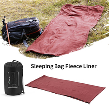 Envelope Fleece Sleeping Sack Sheet Ultralight Travel Lazy Bag Spring Autumn Winter Warmth Insulation