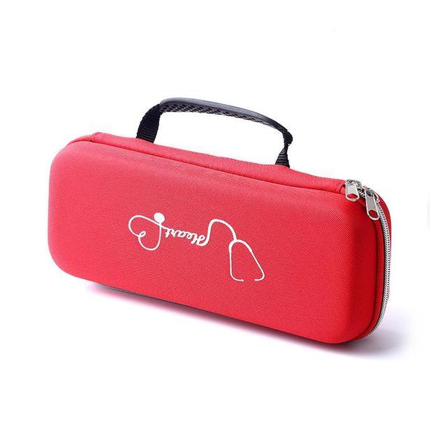 عملي المحمولة سستة الكلاسيكية خفيفة الوزن سماعة رأسية مزدوجة حقيبة للتخزين حقيبة صدمات مقاوم للماء الراحة