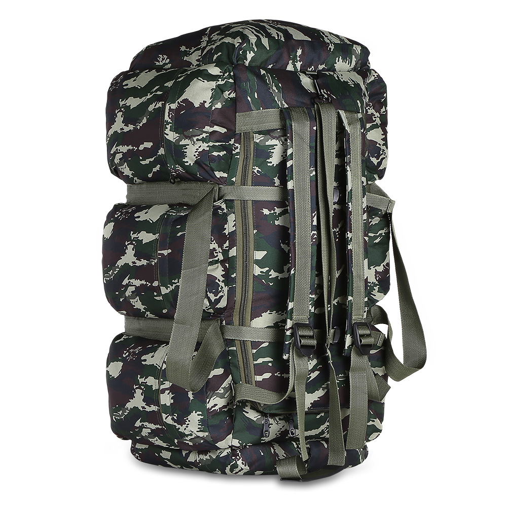 600D Oxford Cloth Men S Military Tactical Backpack 90L Large Capacity Hiking Backpack Outdoor Travel Bag