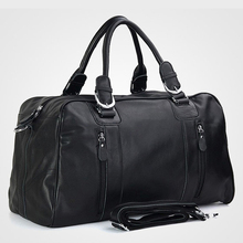 Fashion Men Genuine leather Travel Bags Men Luggage Bag real Leather Weekend bag Duffle Bag Large Overnight Tote Handbag Big genuine leather plaid men travel duffel vintage large capaity travel luggage handbag cow leather men shoulder bag bolsa viaje