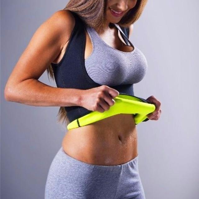 Women Thermo Sweat Neoprene Body Shaper Slimming Waist Trainer Cincher Slimming Wraps Lose Weight Body Trainer Slimming Belt 3