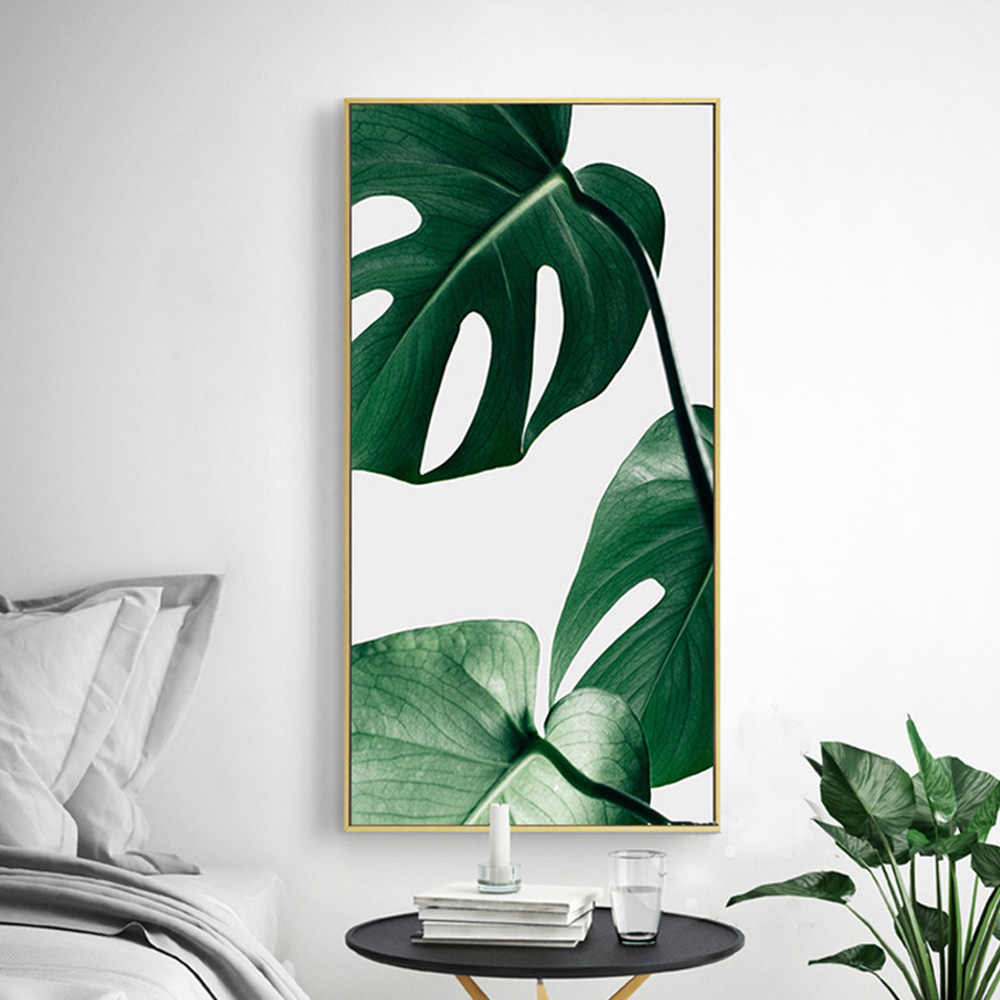 New Nordic tropical plant leaves Art Canvas Poster Painting Modern Wall Picture Home Decoration