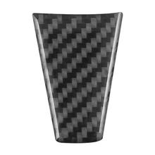 Car Carbon Fiber Steering Wheel Sticker Cover Decoration Auto Interior Decal Supplies