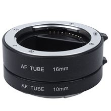 Macro Auto Focus Extension DG Tube Set Ring Metal Mount for Sony E-mout NEX