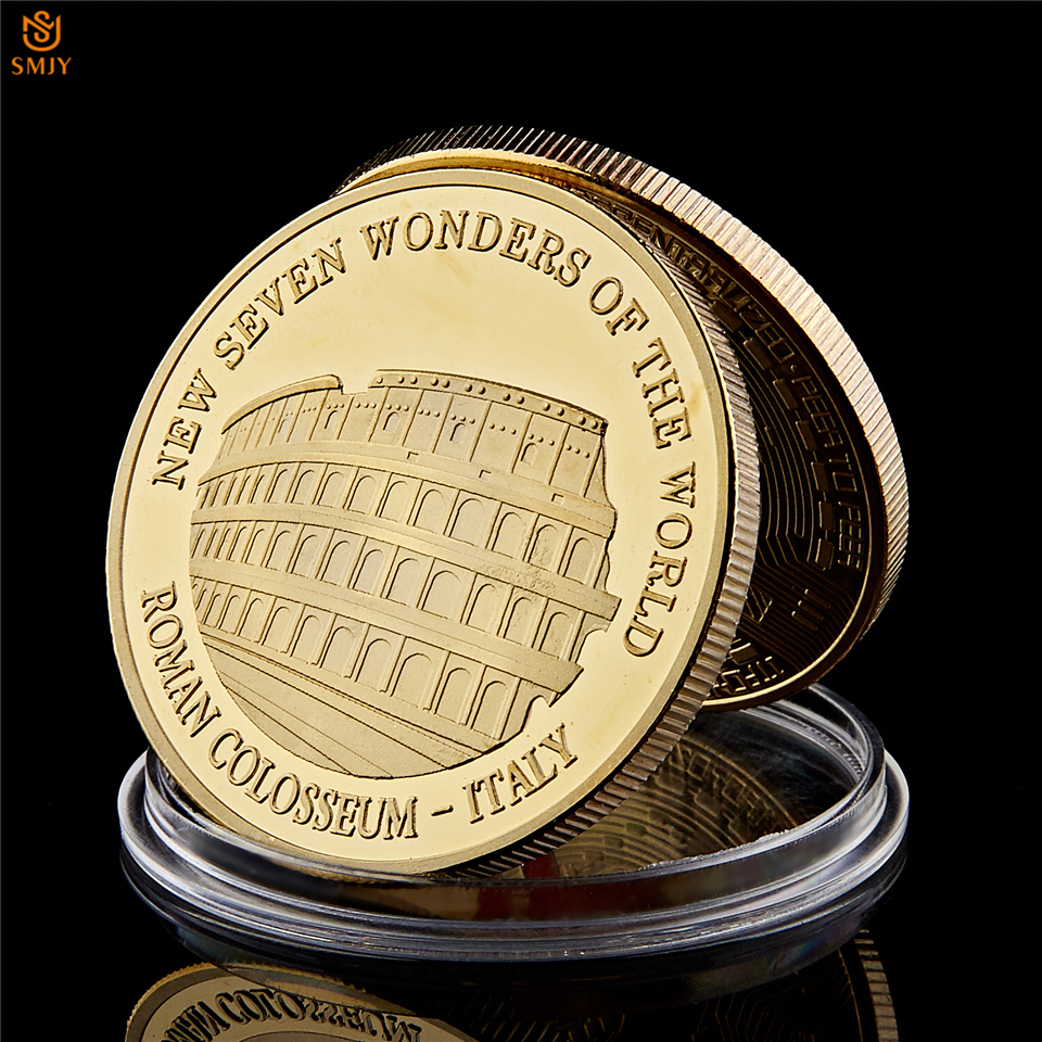 5PCS Gold Challenge Coin World War II Uncle Sam/'s I Want You Military Gold Coin