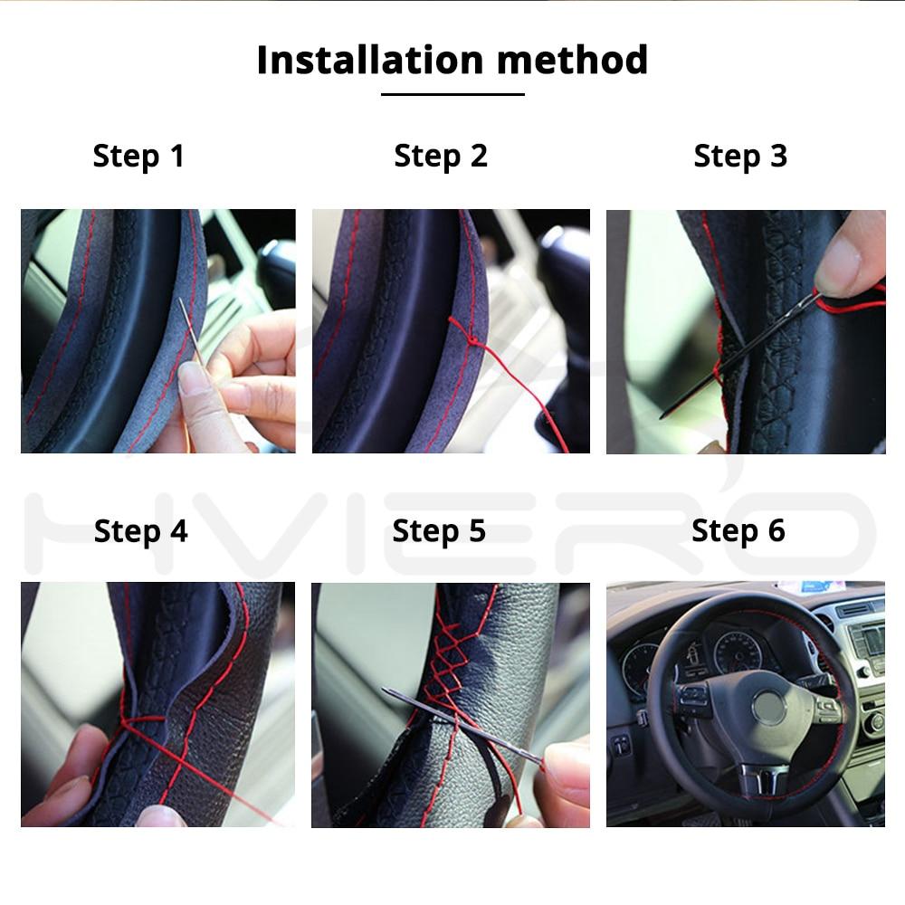 Ավտոմեքենաների ոճավորում DIY ղեկանի - Ավտոմեքենայի ներքին պարագաներ - Լուսանկար 6