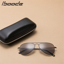 ce4e5591eb4 iboode Retro Square Reading Glasses Sunglasses Metal Women Men Presbyopic  Glasses