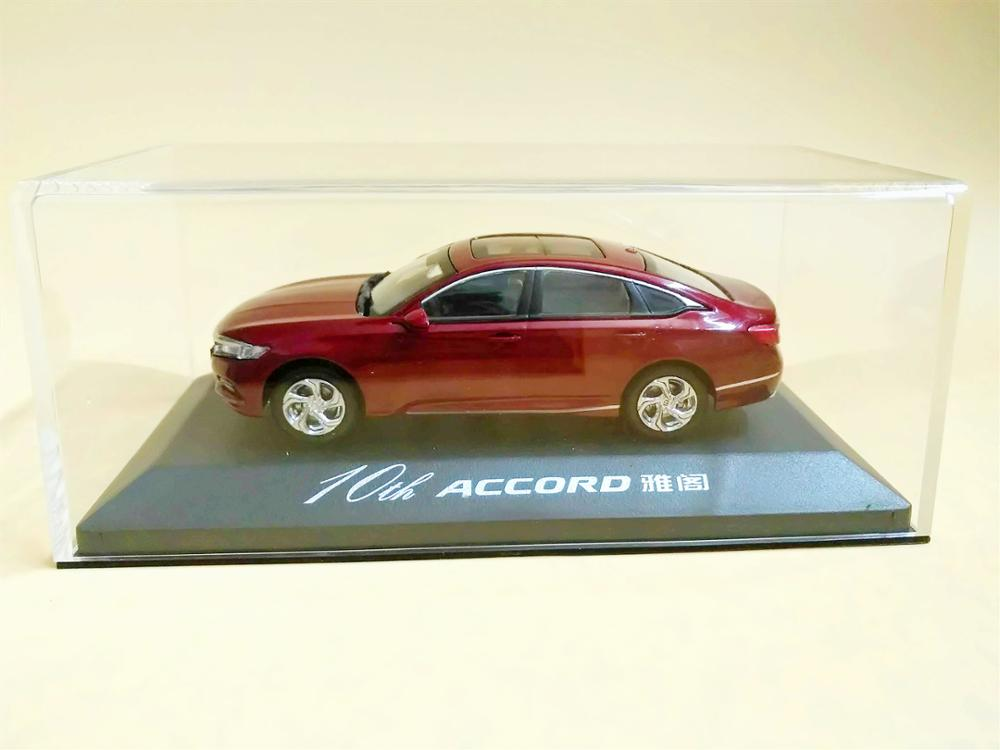 1:43 Scale 10th Generation Honda All New Accord 2018 Red Diecast model