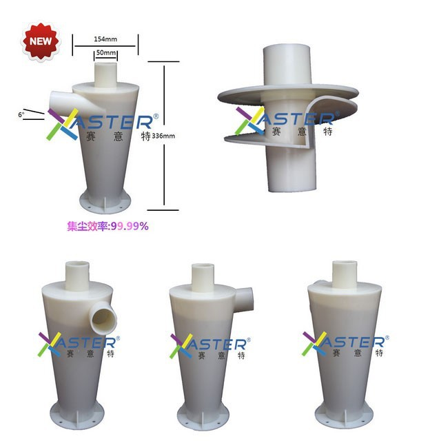 99.9% High Performance Cyclone Dust Powder Collector For Woodworking Tools Vacuums Filter