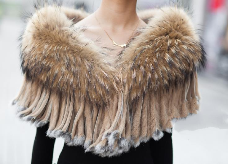 High Quality fur collar