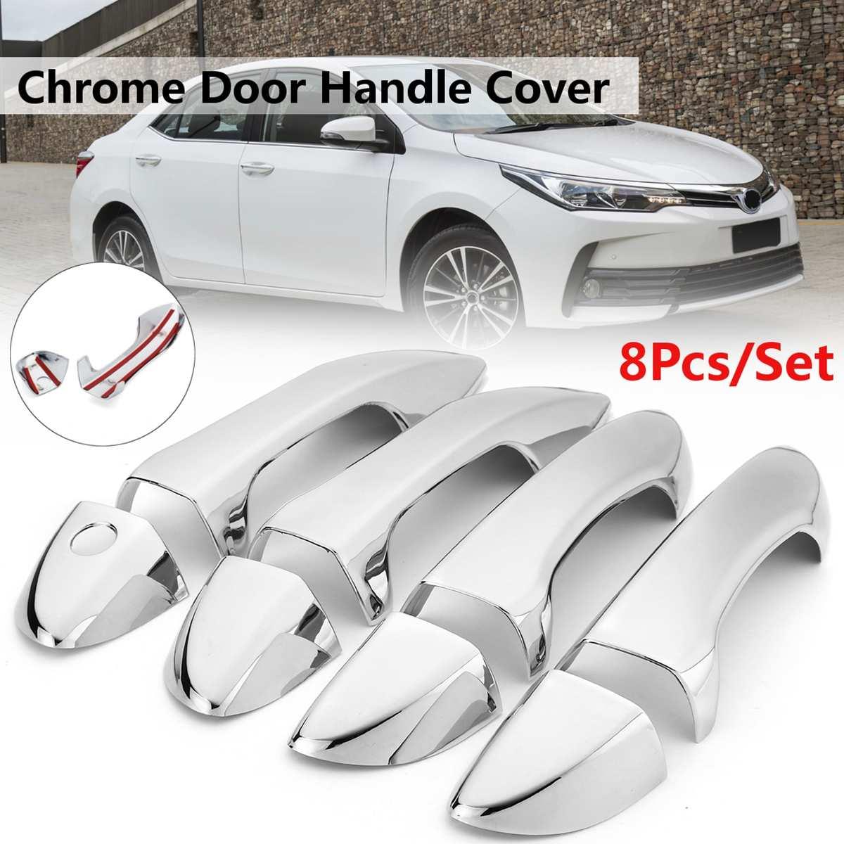 For Toyota Corolla Geo Prizm 93-97 Inner BROWN Front Rear LHRH Door Handle 4 SET