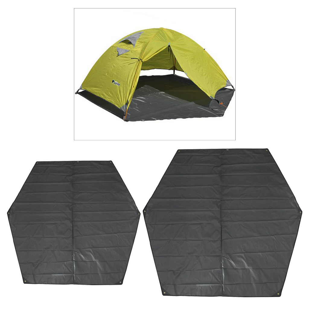 MagiDeal Outdoor Camping Awning Ground Sheet Waterproof Camping Tarp For Tent Footprint  Rain Fly Tent Tarp