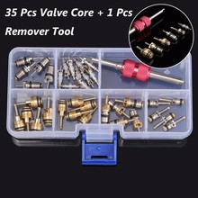 35 Pcs Car A/C R12 R134a Automotive Air Conditioning Valve Core With A Remover