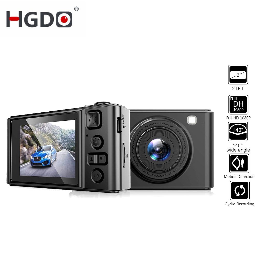 HGDO Car Dvr Car-Camera Camcorder Video Registrator Automotive-Dvrs Mini Full-Hd 140