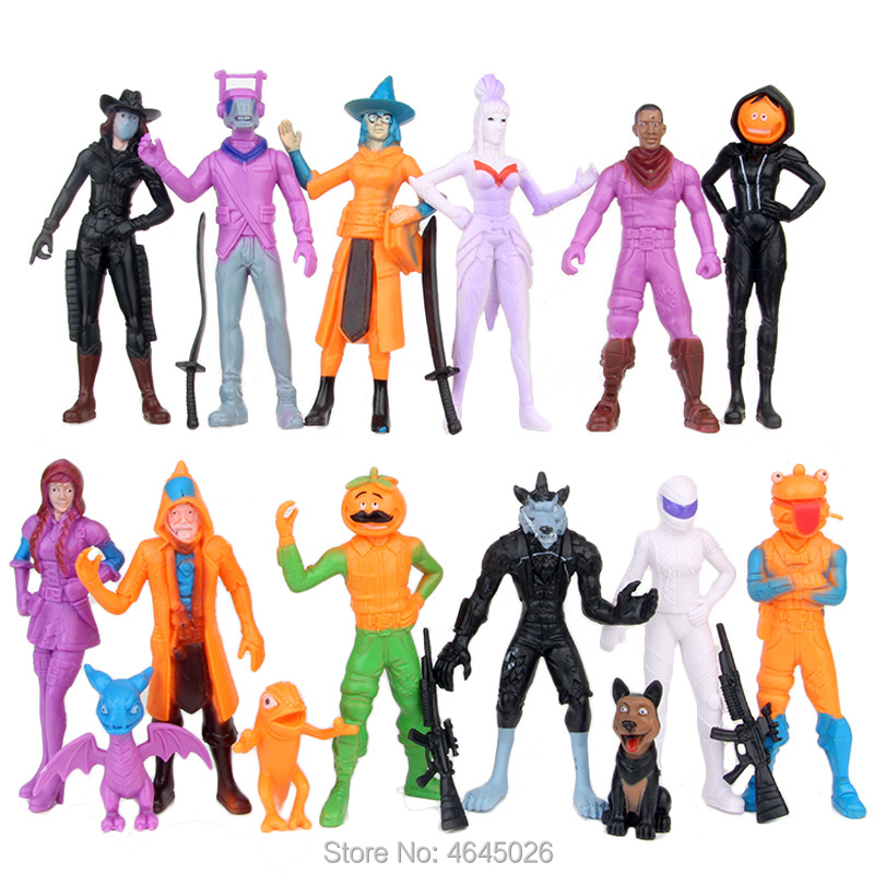 Image 4 - Fornite Battle Royale PVC Action Figures Llama Game Model Gun Weapons Figurines Collectible Dolls Kids Toys for Children Boys-in Action & Toy Figures from Toys & Hobbies