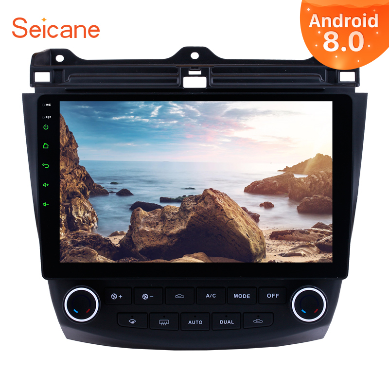 Seicane Android 9.0 10.1'' Car Stereo Audio Radio GPS DVD Multimedia Player For 2003 2004 2005 2006 2007 Honda Accord 7