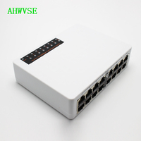 10/100Mbps 16ch POE Switch Power Over Ethernet 14+2 Port For IP Camera POE Network Switch Hub Ethernet Smart Switcher
