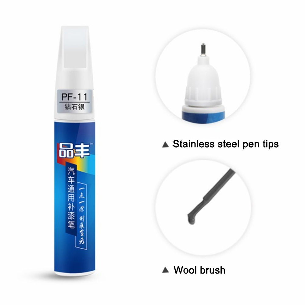 6 Color New Wood Furniture Scratch Mend Painting Repair Remover Touch-Up Fix Pen