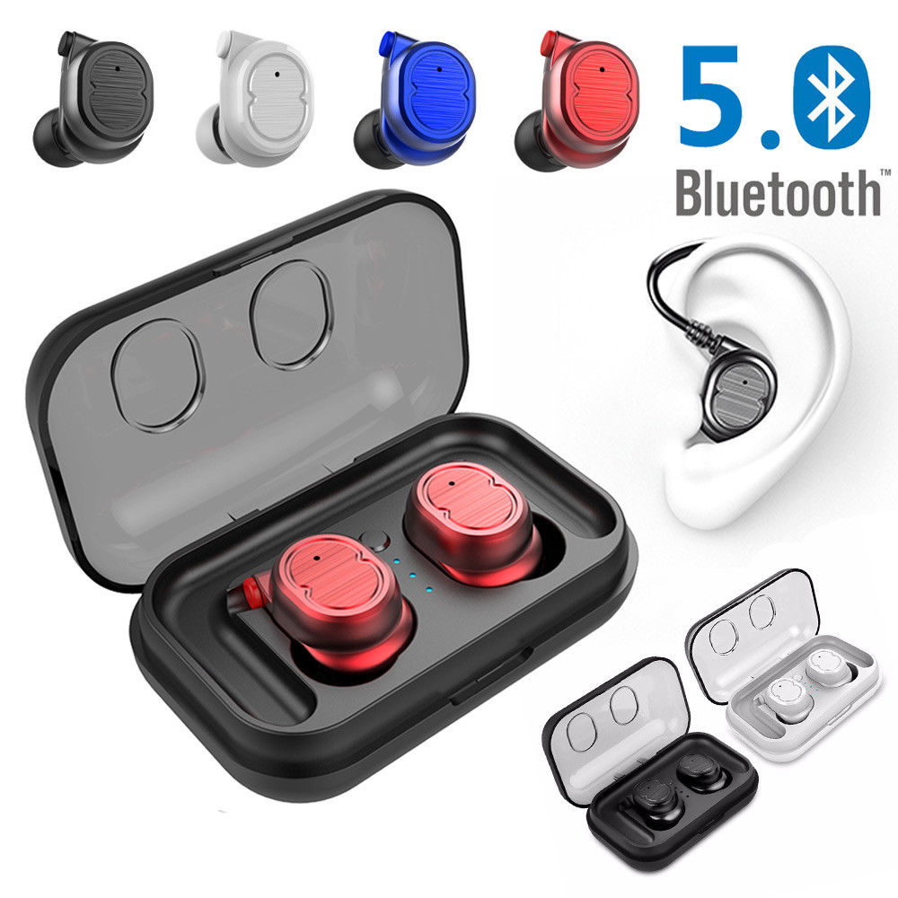 Bluetooth 5.0 TWS Wireless Sports Waterproof Headset earbuds Headphone charger MiNi Earphone Bluetooth 5.0 TWS Wireless Sports Waterproof Headset earbuds Headphone charger MiNi Earphone