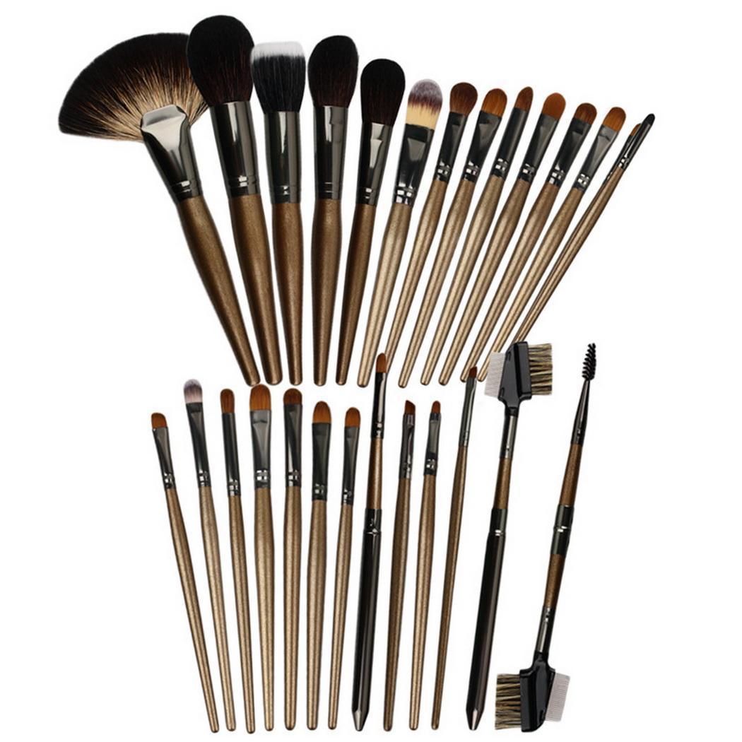 HG SERIES пудра/румяна повторяющиеся тени/креза для глаз/консилер/угловой вкладыш/Smudge/выдвижные кисти для макияжа Кабуки набор - 2