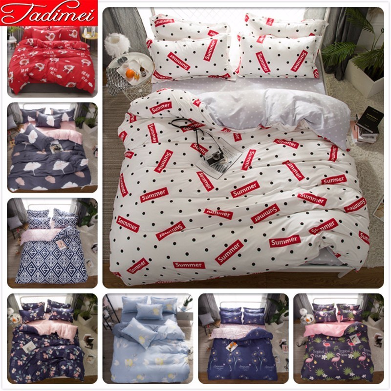 New Fashion Creative Pattern Duvet Cover Bedding Set Adult Kids Soft Cotton Bed Linen Single Full Queen King Big Size BedspreadsNew Fashion Creative Pattern Duvet Cover Bedding Set Adult Kids Soft Cotton Bed Linen Single Full Queen King Big Size Bedspreads
