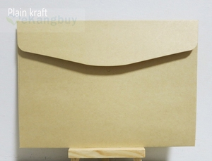 Image 5 - 50 個 190 × 135 ミリメートル色封筒招待ギフト封筒 120gsm 無地/真珠の紙封筒