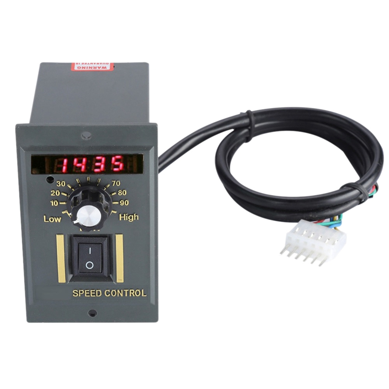Ac 220V Motor Speed Controller 50Hz 250W Digital Adjustable Stepless Plc Motor Speed Controller 0-1450Rpm Speed RegulatorAc 220V Motor Speed Controller 50Hz 250W Digital Adjustable Stepless Plc Motor Speed Controller 0-1450Rpm Speed Regulator