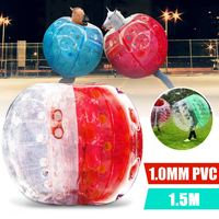 Inflatable Bubble Ball Bumper 150CM Air Bumper Ball Inflatable Body Bubble Ball Football Kids Outdoor Toy Christmas Gift