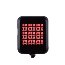 Bicycle Turn Signal Lights 64 LED USB Rechargeable Rear Tail Light Waterproof Safety Warning Light With Laser(China)
