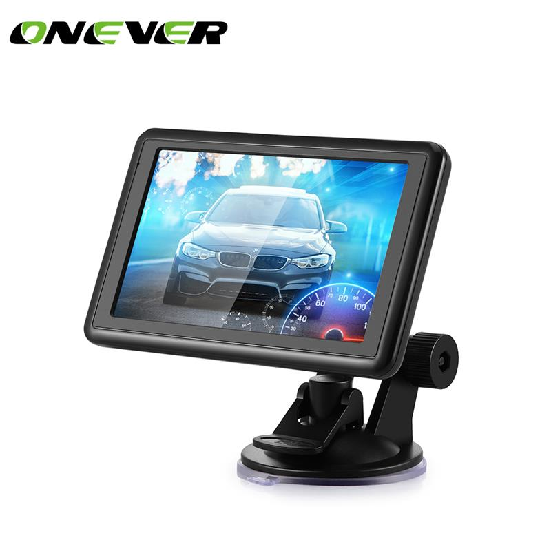 5 Inch Car SAT GPS Navigation NAV 4GB ROM Free 16GB TF card EU Russia Australia Map Automotive Car Charger Touch Screen