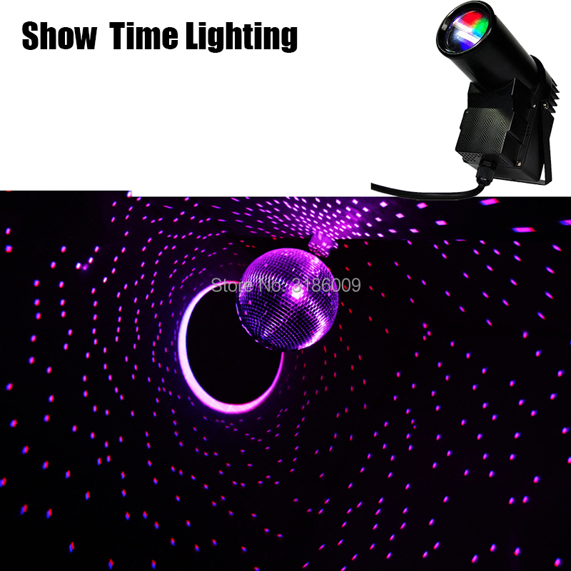 High Brightness LED 15W RGB PinSpot Stage Light LED Beam Spot Stage Effect Color DJ KTV Party Disco Wedding All Star In Sky