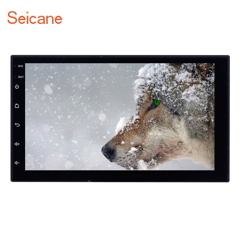 Seicane Android 7.1 Universal 2 Din Quad core Car GPS Navigation Radio Multimedia for Nissan Toyota VW Volkswagen Mazda BYD Kia car dvd gps android 8 0 player 2 din radio new universal gps navigation multimedia for nissan toyota volkswagen mazda byd kia vw