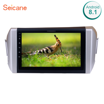 Seicane 9 Inch Android 8.1 2Din Quad Core Car Radio GPS Multimedia Player Head Unit For 2015 Toyota Innova Right Hand Drive image