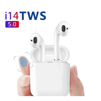 2019 I14 Tws 1:1 Wireless Bluetooth 5.0 Earphone Earbuds Touch Control Headphones For iPhone Xiaomi Airdot Pk I13 I10 I12 I88