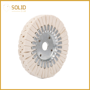 Image 4 - 6 inch Cotton Airway Buffing Cloth Wheel Polishing Pad 20mm Bore for a Mirror Finish on Aluminum And Stainless Polishing Tool