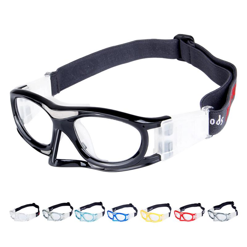 Impact Resistant Breathable Protective Glasses Basketball Football Tennis Sports Safety Glasses
