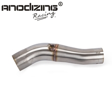 Exhaust-System Link-Pipe Muffler SLIP-ON Motorcycle CBR400R Honda Cb500f for Without