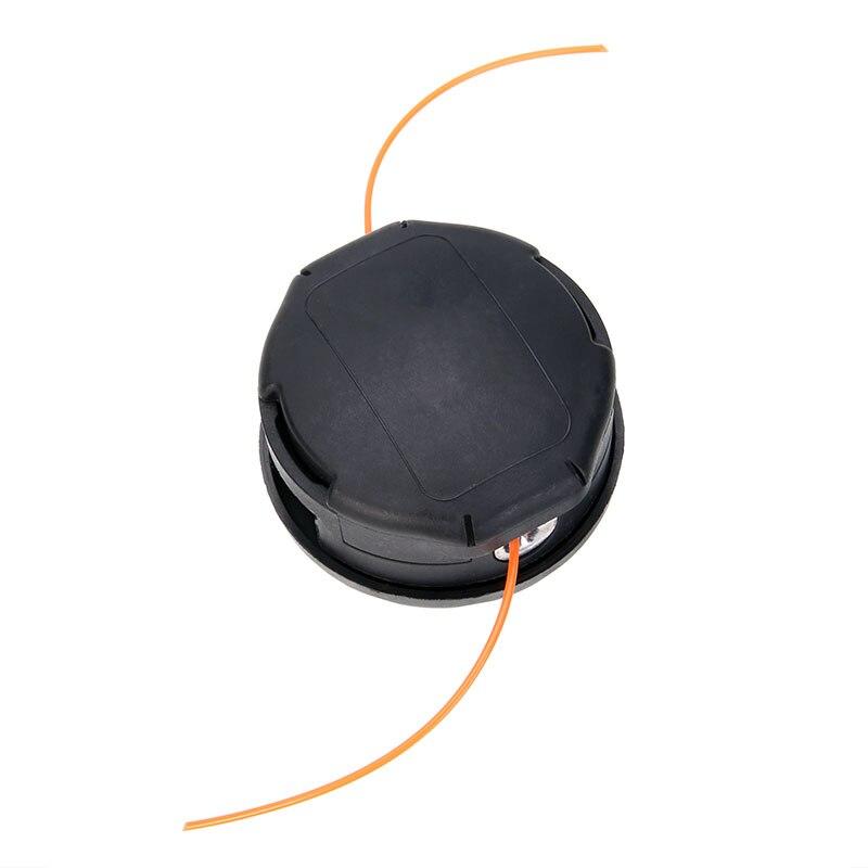 Black Round Trimmer Head Nylon Line Bump Feed Head For Brushcutter Lawn Mower accessoriesBlack Round Trimmer Head Nylon Line Bump Feed Head For Brushcutter Lawn Mower accessories